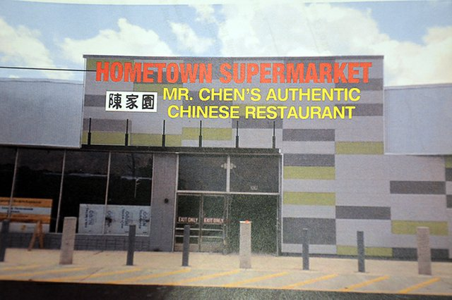 Hometown Market and Mr. Chen's Restaurant