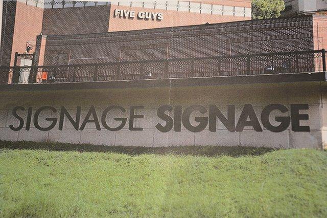 Brookwood Village signage