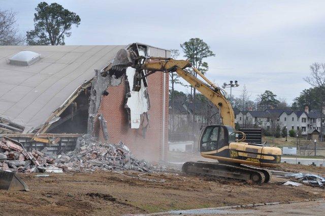 0213 Rec Center Demolition