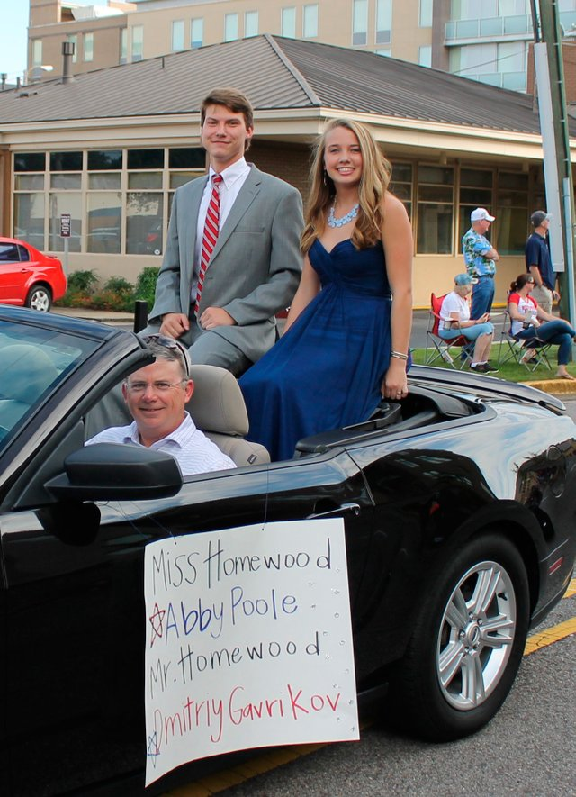 Mr. and Miss Homewood