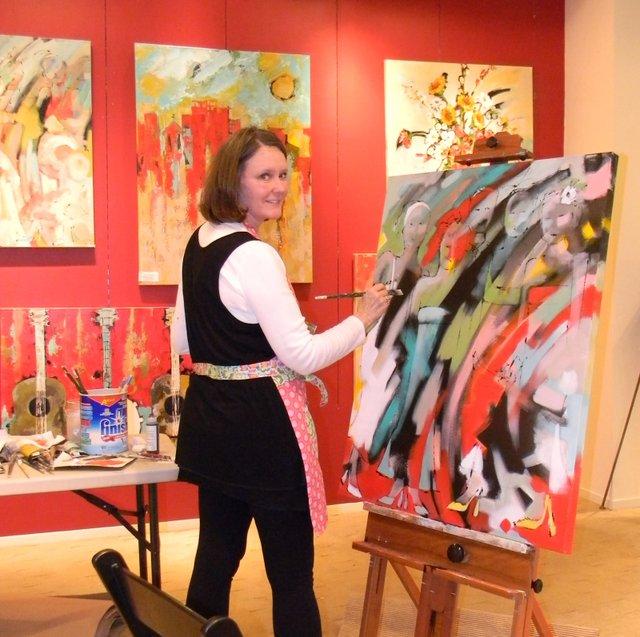 Mountain Brook art show