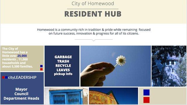 Homewood City Website