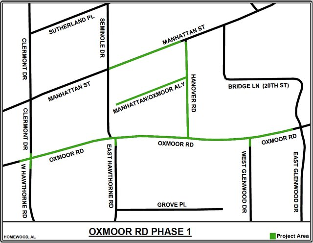Oxmoor Road Pipelines