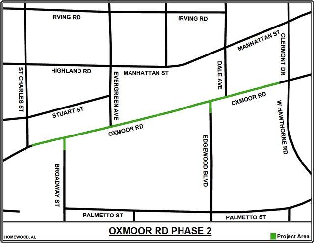 Oxmoor Road Pipelines