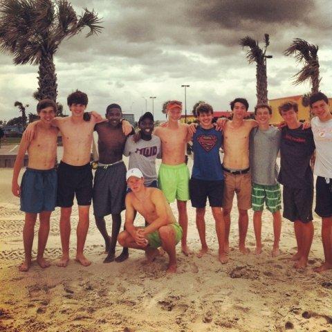 0513 Track boys at beach