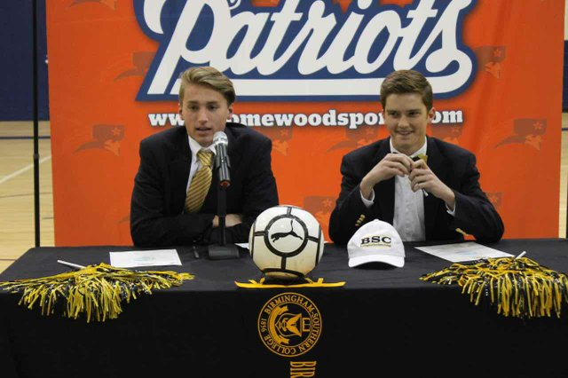 Homewood Soccer Signees