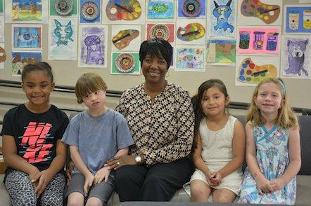Edgewood Principal Patricia Simpson retirement