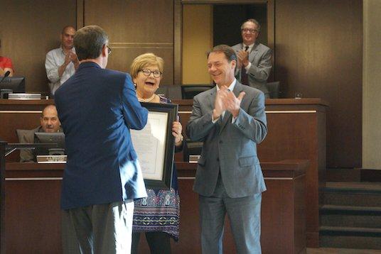 Linda Cook retires