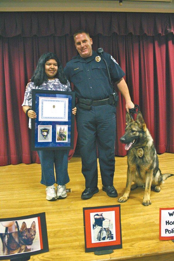 0512 New police dog named