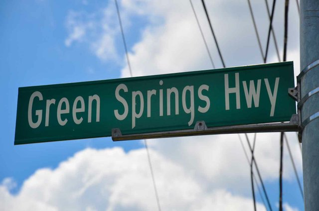 0713 Green Springs Sign