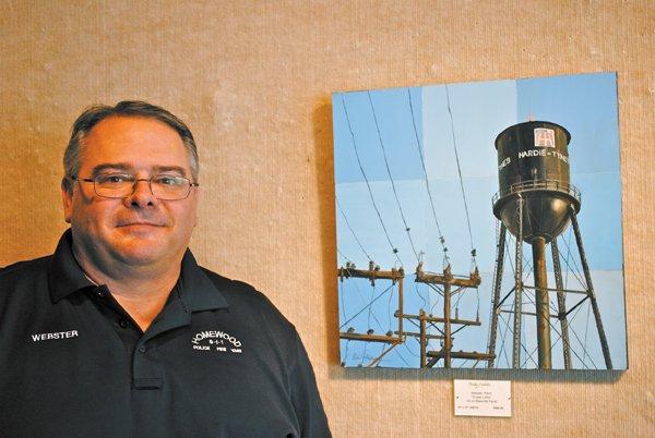 Kevin Webster artist police dispatcher