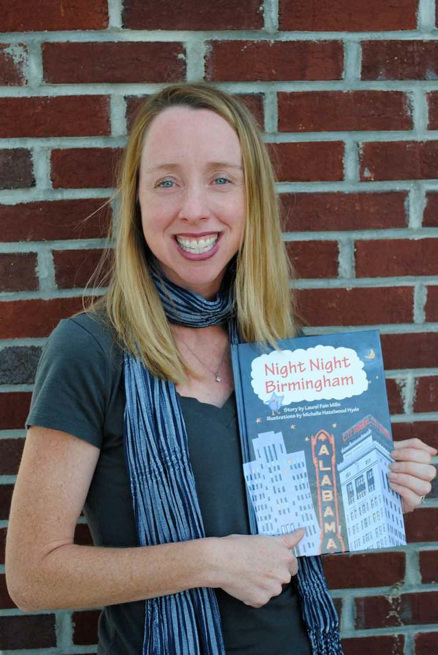 Michelle Hazelwood illustrates Night, Night Birmingham children's book