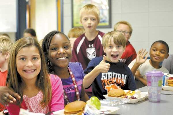 Edgewood Elementary Students