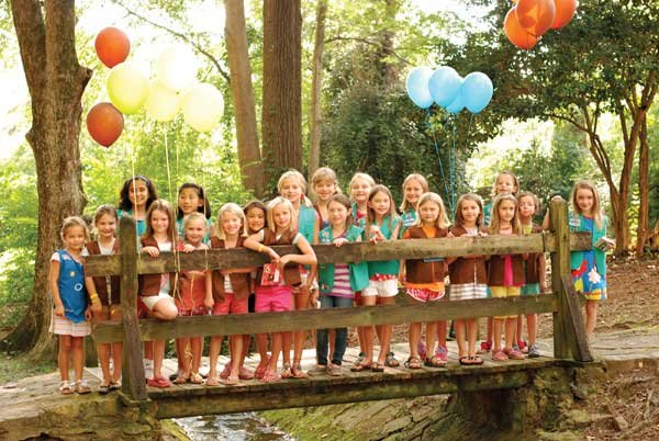 Girl Scout Troop Bridging