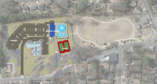 Patriot Park improvements