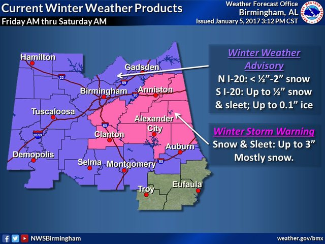 Jan. 2017 Winter Weather