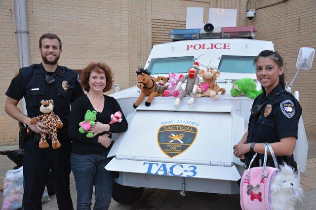 Stuffed animal donation