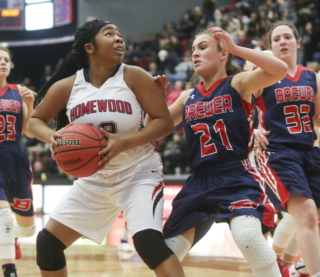 Homewood Girls Basketball VS Brewer Semifinals 2017