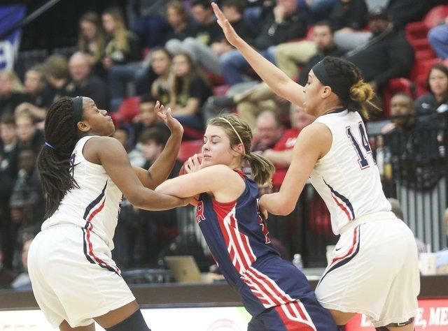 Homewood Girls Basketball VS Brewer Semifinals 2017
