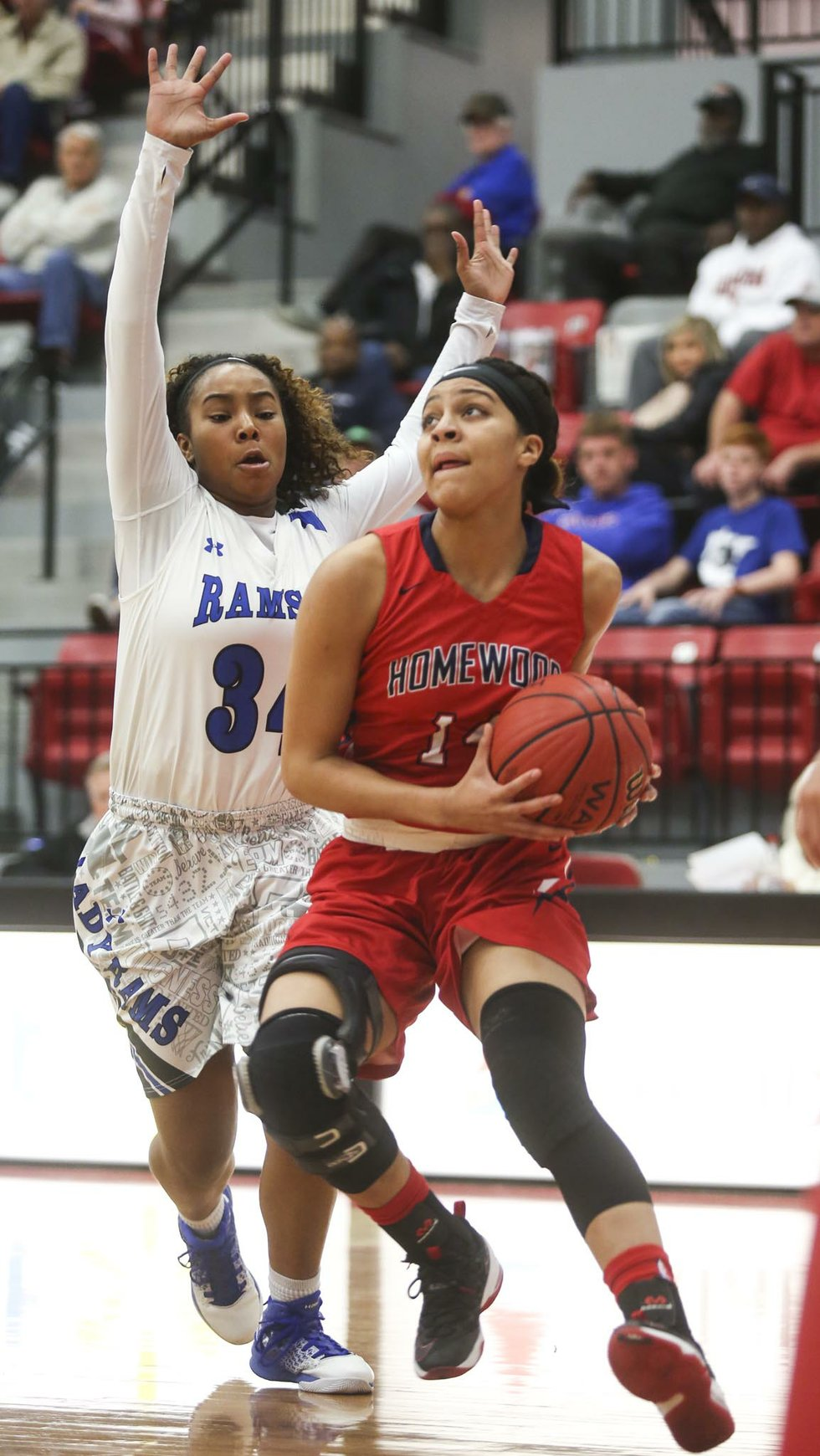 Homewood Girls Basketball VS Ramsay Regionals 2017