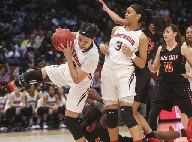 Homewood Girls Basketball State Championships 2017